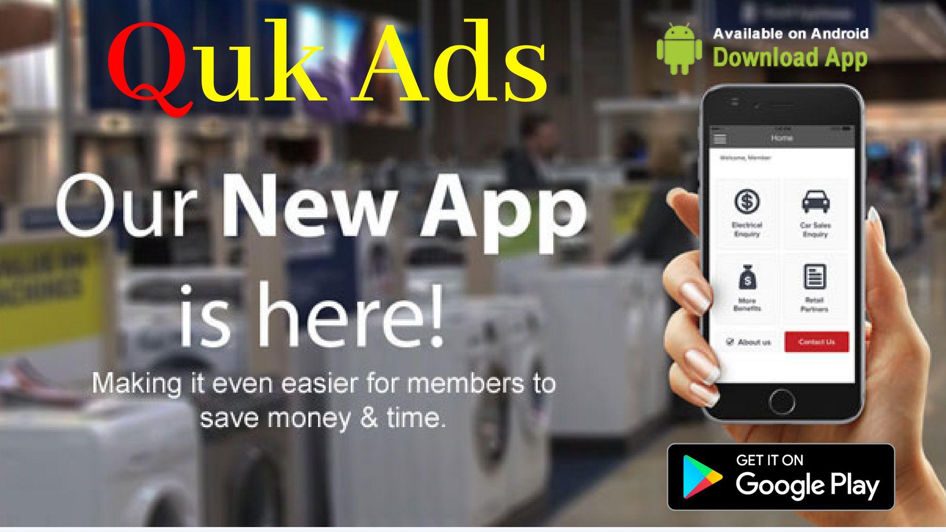Quk Ads NEW APP